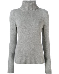 Loro Piana Cashmere Turtleneck Slim Fit Jumper