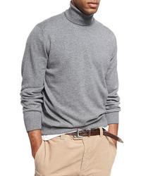 Cashmere turtleneck sweater medium 3767928