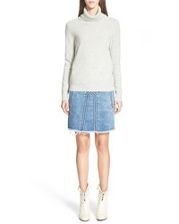 Chloé Chloe Knit Turtleneck Cashmere Sweater