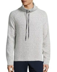 Madison Supply Cotton Blend Funnelneck Sweater