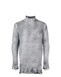 Avant Toi Distressed Turtleneck