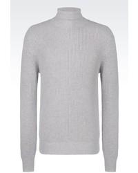 Emporio Armani Turtleneck Sweater In Cashmere Wool