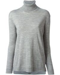 Ermanno Scervino Back Pleat Roll Neck Sweater