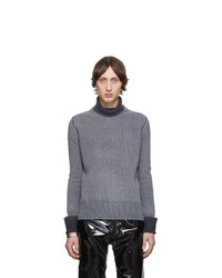 Maison Margiela Grey Gauge 7 Sweater
