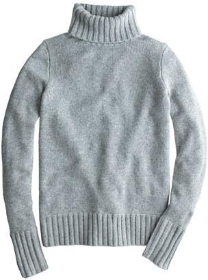 J.Crew Italian Cashmere Chunky Turtleneck Sweater | Where to buy ...