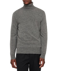 AllSaints Nova Slim Fit Turtleneck Sweater