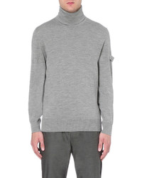 Oamc Officer Turtleneck Wool Blend Jumper