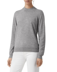 Burberry Pondhead Merino Wool Sweater