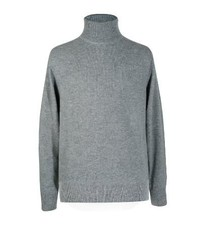 Lona Scott Pure Cashmere Sweater Polo Neck