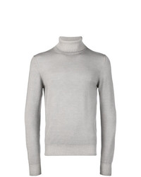 La Fileria For D'aniello Roll Neck Fitted Sweater