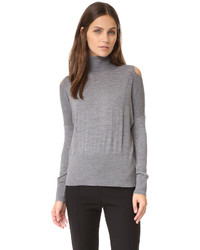 Split shoulder turtleneck medium 786755
