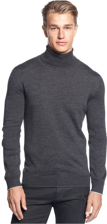 Calvin Klein Sweater Macys Turtle Neck Sweater | Where to buy ...
