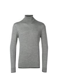 Emporio Armani Turtle Neck Fitted Sweater
