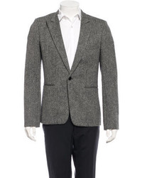 Raf Simons Classic Tweed Wool Blazer