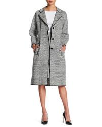 Oscar de la Renta 34 Length Sleeve Tweed Coat
