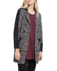 Nic+Zoe Abstract Tweed Jacket