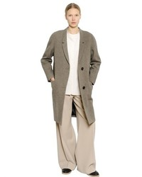 Christophe Lemaire Lambswool Blend Tweed Coat