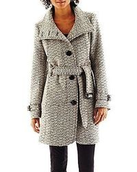 jcpenney Worthington Belted Wool Blend Coat Talls