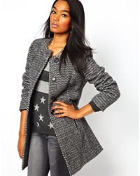 Womens grey tweed jackets – Novelties of modern fashion photo blog