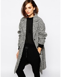 Women's Grey Tweed Coats from Asos | Women's Fashion