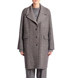 The Row Sonja Tweed Coat