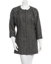 Francesco Scognamiglio Tweed Coat W Tags