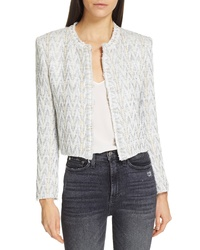 IRO Makilo Chevron Tweed Jacket