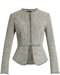 Alexander Wang Peplum Tweed Jacket