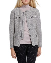 Nic+Zoe The Ritz Metallic Thread Cotton Blend Jacket