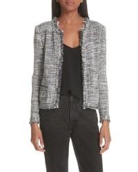 IRO Unplug Metallic Tweed Jacket