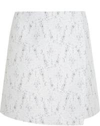 Calvin Klein Collection Bago Tweed Wrap Mini Skirt