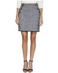 Bishop + Young Tweed Mini Skirt Skirt