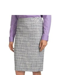 9aa475b78a861c Grey Tweed Pencil Skirts for Women | Women's Fashion | Lookastic.com