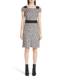 Grey Tweed Sheath Dress