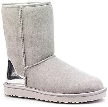 ... UGG Australia S Classic Short Metallic Boots