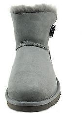 784c3fe4add Shoes Australia Mini Bailey Button Bling Boots 1003889 Grey New
