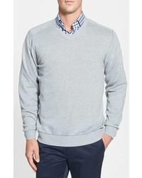 Cutter & Buck Big Tall Broadview V Neck Sweater