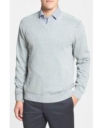 Cutter & Buck Broadview Cotton V Neck Sweater