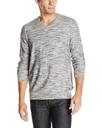 Calvin Klein Jeans Space Dyed V Neck Sweater