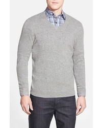 John W. Nordstrom Cashmere V Neck Sweater