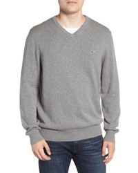 Vineyard Vines Cotton Cashmere V Neck Sweater