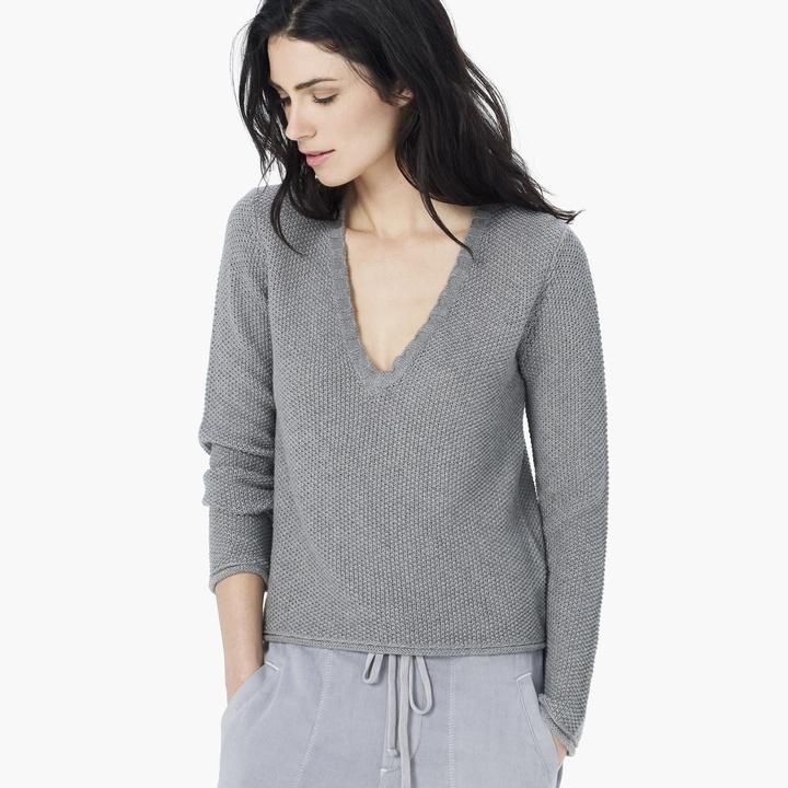 Outlet High Quality James Perse Cashmere V-Neck Sweater Best Wholesale Cheapest Online Sale Nicekicks QCxmiZ6u