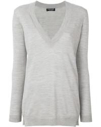Twin-Set Deep V Neck Sweater