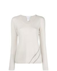 Fabiana Filippi Embellished V Neck Sweater