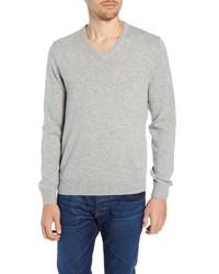 J.Crew Everyday Cashmere Regular Fit V Neck Sweater
