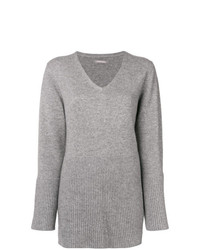 Hemisphere Flared Hem Sweater