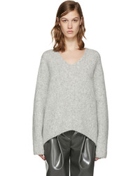 Acne Studios Grey Deborah Sweater