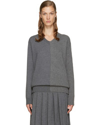 Stella McCartney Grey V Neck Sweater