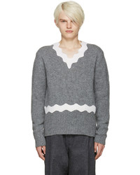 Acne Studios Grey Wool Kapila Sweater