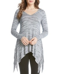 Karen Kane Kane Karen Side Fringe Sweater